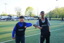 Fotboll till sambatoner sprider positivt budskap i Hjällbo