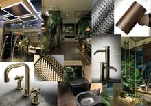 Trender för framtidens badrum - spaning från möbelmässan i Milano