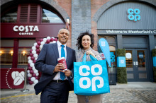 Costa Coffee and Co-op open the doors on Weatherfield stores as landmark partnership gets underway on Coronation Street