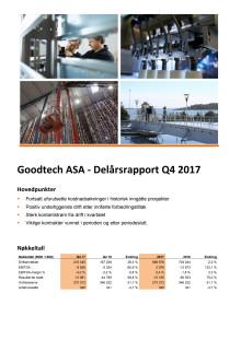 Kvartalsrapport Q4 2017