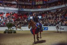 Robert Whitaker etta och Stephanie Holmén tvåa i lördagens Gothenburg Trophy