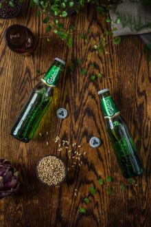 Sveriges mest sålda alkoholfria öl blir ännu grönare