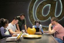 Forskarstudenter agerade rådgivare i internationell cybersäkerhet