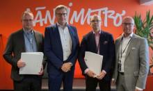 Länsimetro on valinnut RamiSmart -järjestelmän parantamaan työturvallisuutta projektissaan