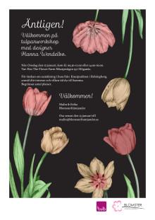 Välkommen på tulpanworkshop med designer Hanna Wendelbo
