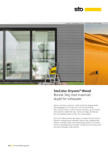 Produktblad StoColor Dryonic Wood