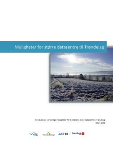 Muligheter for større datasenter til Trøndelag
