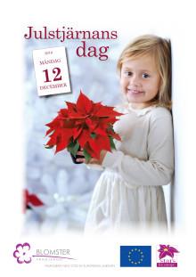 Julstjärneposter inför julstjärnans dag för egen utskrift
