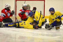 Siktet inställt på Sotji under kälkhockey-VM
