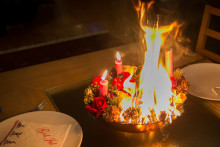 Sørg for en brannsikker juletid