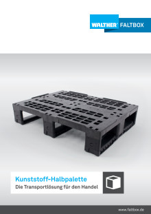 WALTHER Halbpalette