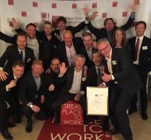 Great Place to Work 2015: Webstep til topps for tredje år på rad