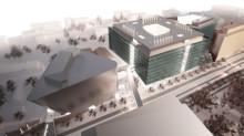 Klartecken för nytt forskningscentrum i Hagastaden