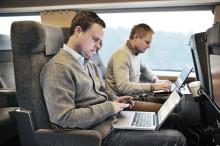 Nu får du bättre internet ombord på SJs X2000-tåg