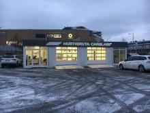Hurtigruta Carglass har åpnet mobilt verksted på Fornebu