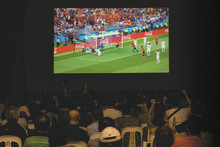 Epson 3LCD High Brightness projectors wow football fans with true-to-life images