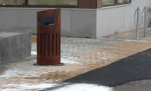 Kvillebäcken får Göteborgs första självtömmande papperskorg