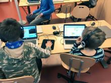 Koodikerhossa innostetaan lapsia teknologian pariin