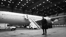 Världspremiär med Kim Cesarion ombord SK 6953