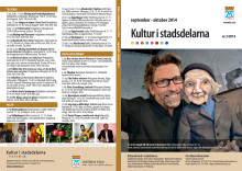 Kultur i stadsdelarna nr 3 2014 – 2 sidor