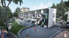 Nya Svanhöjdens förskola - en modern lärmiljö för maximal utveckling