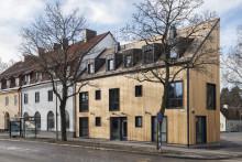 Modellvillan kan bli årets Stockholmsbyggnad
