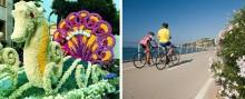 Frühling in Italien: auf zwei Rädern durch die Blumenriviera