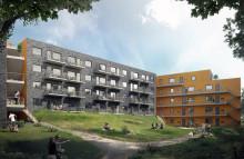 Wästbygg och Förbo bygger hyresrätter i Mölnlycke