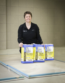 Weber lanserer mer miljøvennlige gulvprodukter på Byggedagene