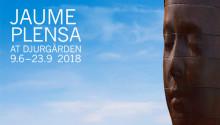 JAUME PLENSA PÅ DJURGÅRDEN - PRESSVISNING 8 JUNI, 2018