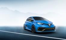 ZOE e-Sport konseptbil presenteres på bilmessen i Genève