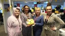 Mitie Helpdesk volunteer support for Children In Need