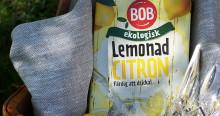 Somrig lemonad från BOB när Orkla Foods Sverige utökar sitt ekologiska sortiment
