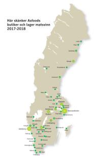 Axfoods svinnkarta 2017