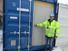 Byggeplassleder om innovativ containerlås: – Verktøy blir ikke lenger borte