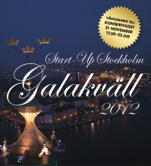 Missa inte årets galakväll - Start-Up Stockholms Galakväll 2012