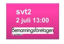 SVT sänder Bemanningsföretagens Almedalsseminarium