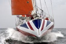 Jump aboard Pip Hare's round-the-world racing yacht at Southampton Boat Show