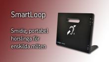 Univox SmartLoop – smidig, trådlös hörslinga