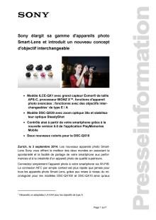 Communication de presse_QX objectif_F-CH_140903