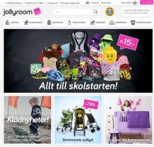 Jollyroom utmanar barn- och babybranschen med en vassare nätbutik!