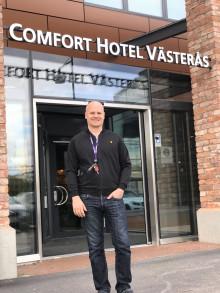 Sex månader efter öppning: Stammisarna har redan hittat till Comfort Hotel Västerås