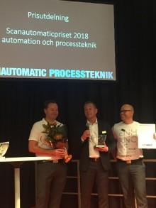 Phoenix Contact vinnare av två Scanautomatic priser!