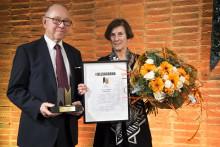 Swegmarks kulturengagemang prisades med Gullsaxarna