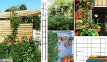 Dekorera din trädgård med hjälp av armering