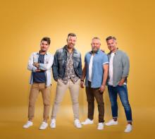 """Arvingarna släpper nya singeln """"Säg att du är min"""" och firar med direktsänd releasefest"""