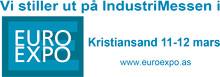 Besøk oss på EuroExpo Industrimesser Kristiansand