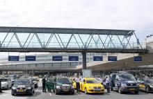 Ökat kund- och miljöfokus för taxiresande på Arlanda