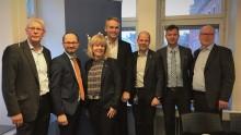 Polarbröd och logistikrådet i Norrbotten i hållbarhetssamtal med infrastrukturministern