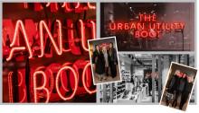 "Ge ett lyft till ditt event - Klassisk neonskylt till Vagabond Shoesmakers produktlanseringen av deras nya kollektion - ""The Urban Utility Boot"""